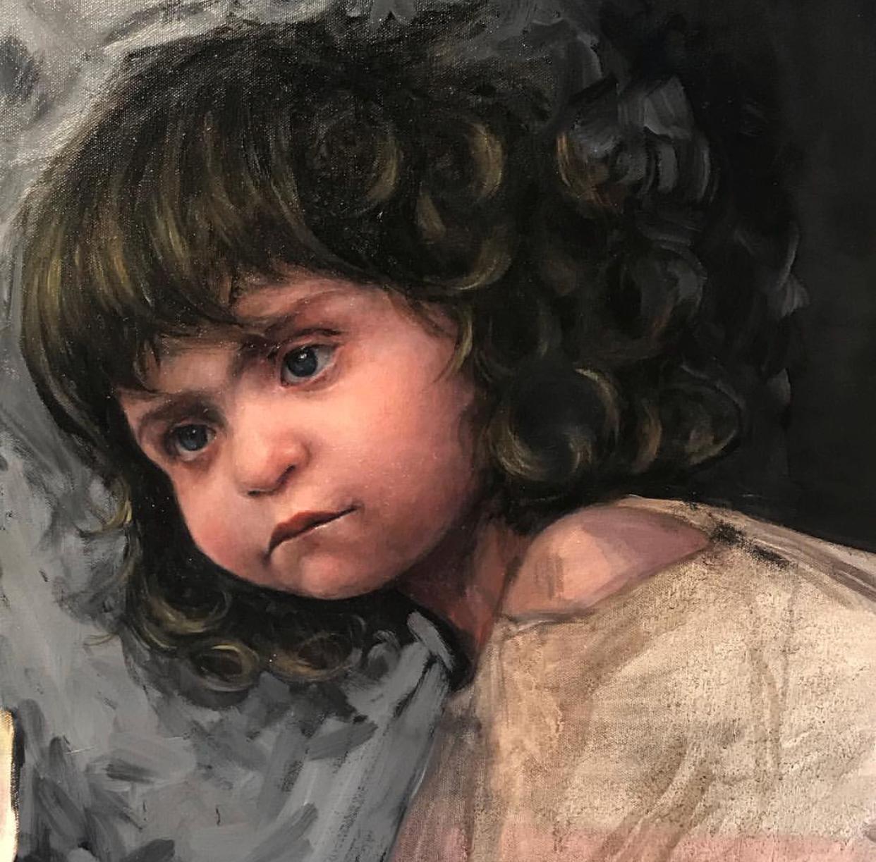 Claudia. Detail